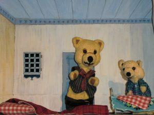 papa en kleine beer